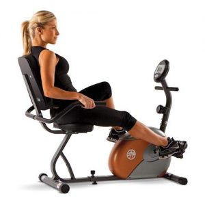 Marcy Recumbent HIIT Bike
