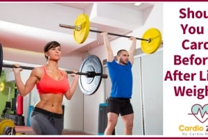 Should You Do Cardio Before Or After Lifting Weights
